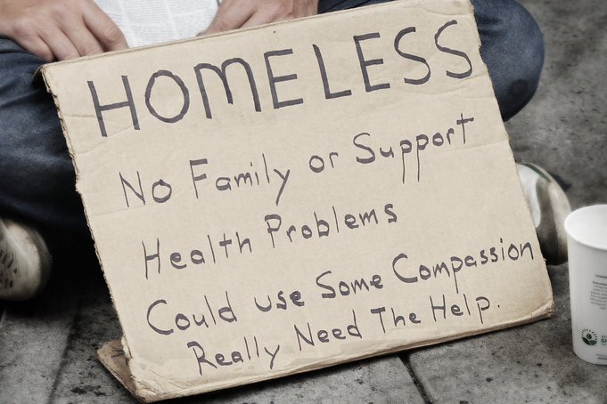 What is the official definition of homelessness?