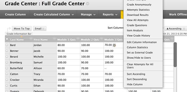 blackboard tutorial for instructors pdf