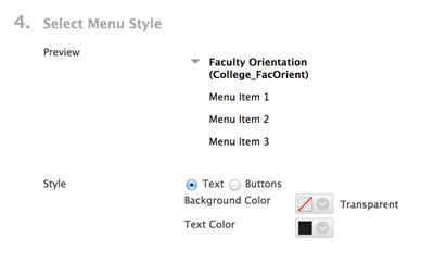 how to change text color of menu items in elementor